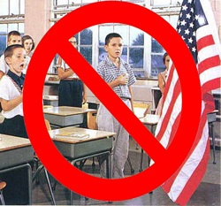the pledge of allegiance controversy essay Legal update controversy continues over the pledge of allegiance by martha m mccarthy if there is any fixed star in our constitutional constellation,it is.