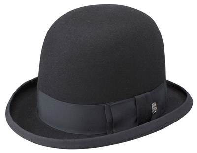 524a4fa362033 This bowler-like hat was made under special contract with Stetson for the  band Langhorne Slim and the Law. Only 300 were made.