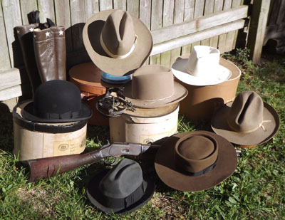 d43539eb2ad4f Click on the image above to read more about these great antique Stetson  westerns. Stetson derbies and top hats…