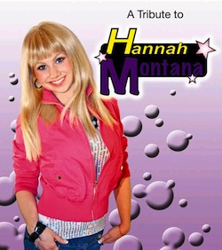 A Hanna Montana Tribute Band If It Isnt The End Of Days Its At Least The End Of Entertainment Here We Have A Young Girl Recreating A Fake Girl